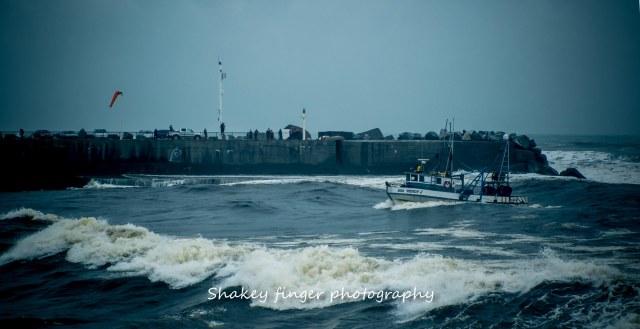 boating into Greymouth