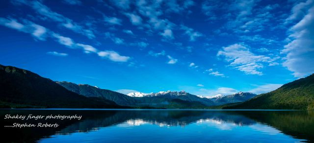 Lake Kaniere reflections
