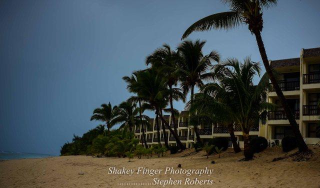 along the beach rarotonga resort